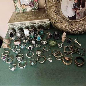 LOT SALE over 45 rings!!! make me an offer!
